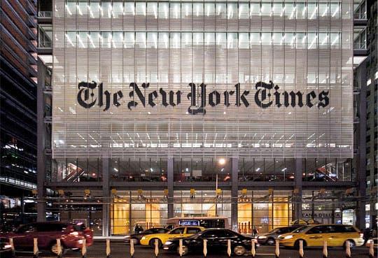 Atacan página web del New York Times
