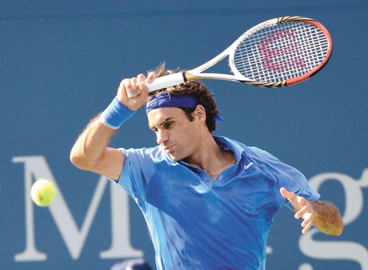 Triunfo exprés de Federer