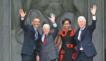 Obama: sueño de King está inacabado