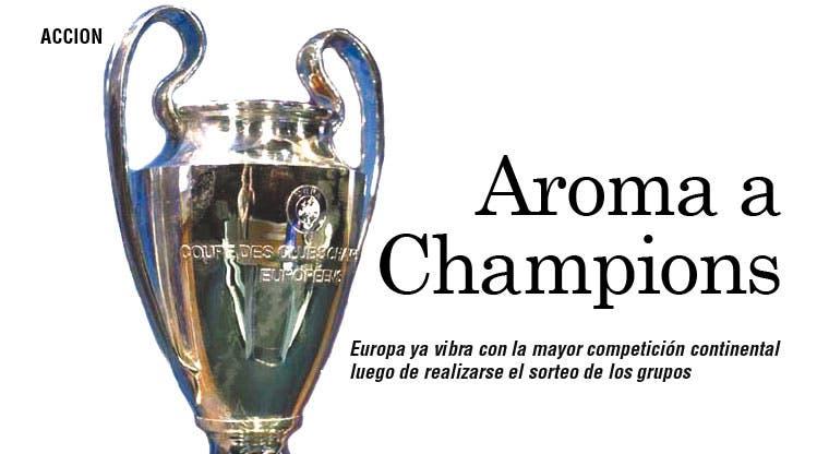 Champions toma forma