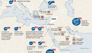 Estados Unidos actuaría en solitario en Siria