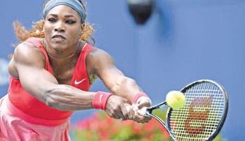 Serena se luce