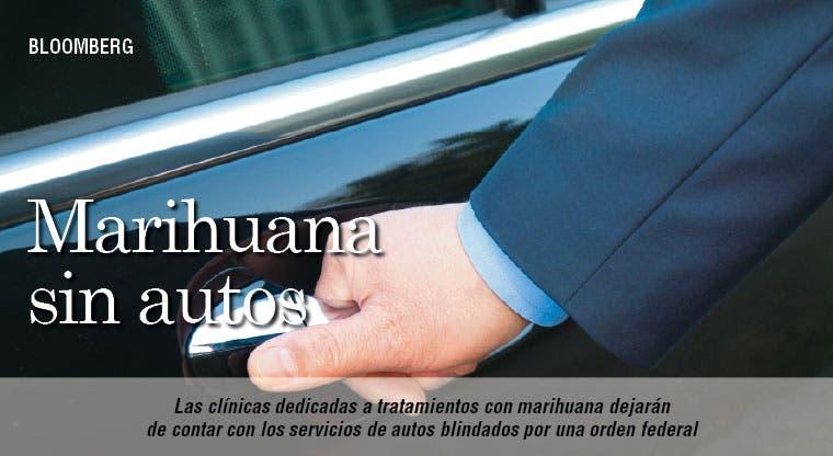 Vendedores de marihuana se quedan sin autos blindados