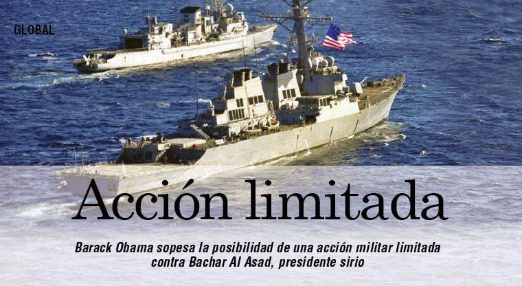 Obama sopesa actuar contra Al Asad