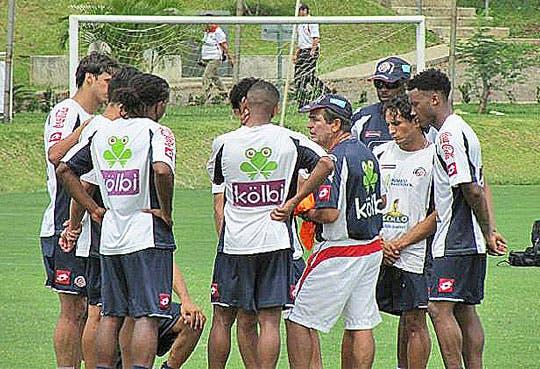Selección Nacional inició entrenamientos