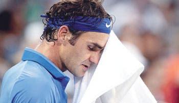 Federer, otro triste adiós