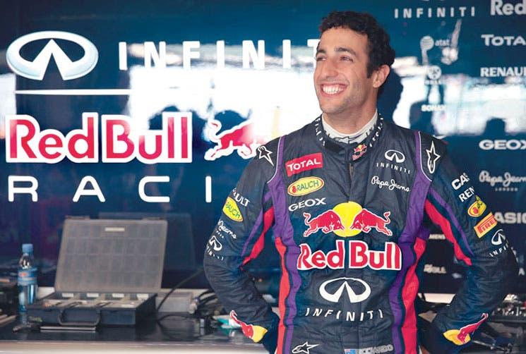 Ricciardo sustituirá a Webber