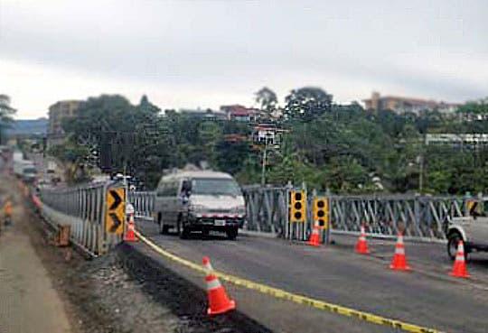 Habilitado el paso sobre puentes en Circunvalación