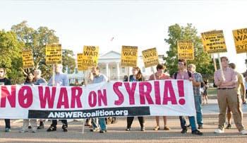 Obama apela a apoyo internacional para actuar en Siria