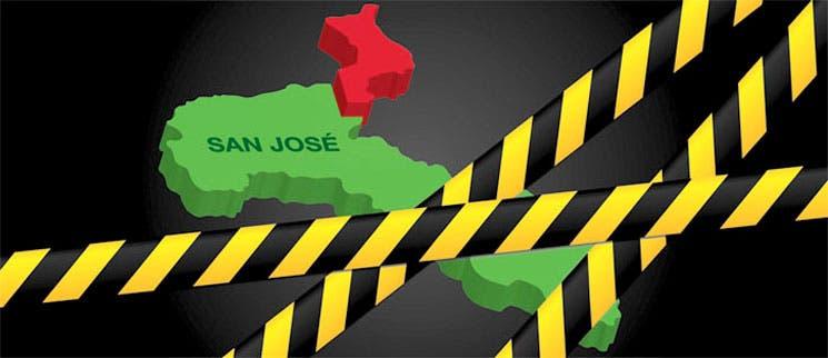 Noreste de San José se vuelve peligroso