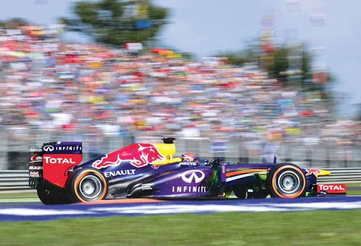 Vettel se invitó solo