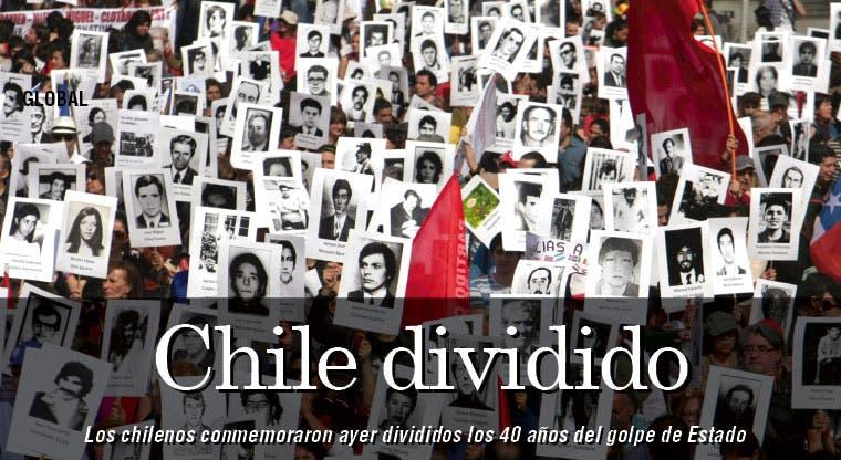 Tras 40 años golpe chileno genera división