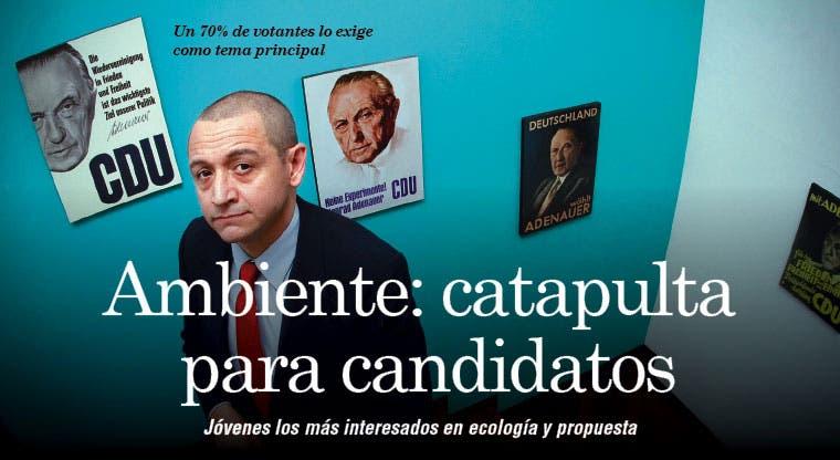 Ambiente: catapulta para candidatos