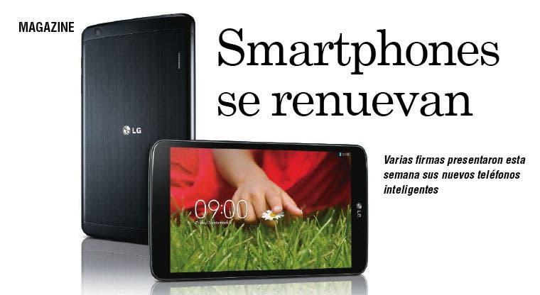 Smartphones se renuevan