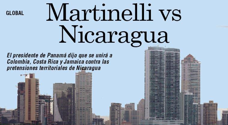 Martinelli: pondré freno a Nicaragua