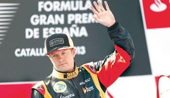 Raikkonen a Ferrari