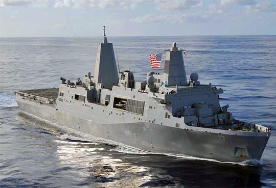 Atacan edificio de Armada de EEUU