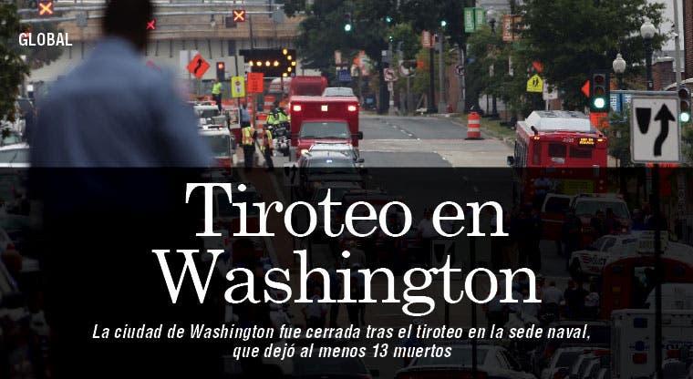 Washington bajo tensión tras tiroteo