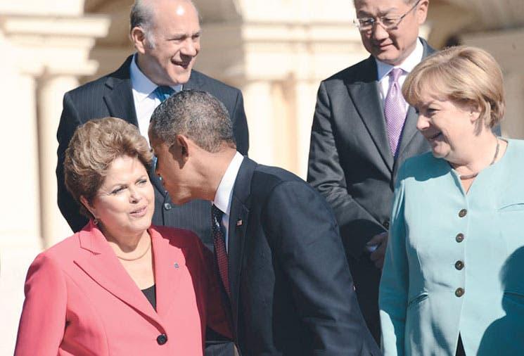 Rousseff cancela cita con Obama