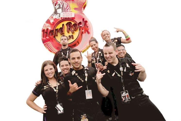 Hard Rock CAFE a días de su apertura