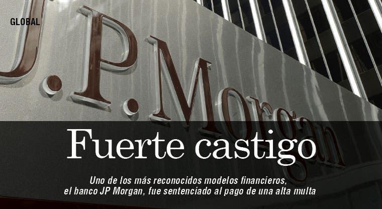 """J.P. Morgan multado por ocultar agujero de """"la ballena"""""""