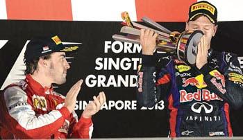 La noche de Vettel