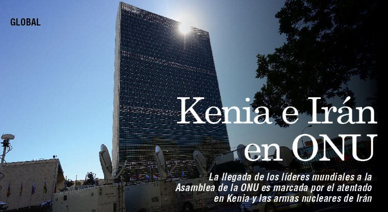 Irán y Kenia reciben a líderes en la ONU