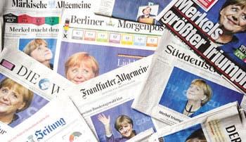 Merkel busca socio para formar coalición