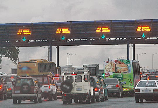 Peajes de ruta 27 aumentarán la próxima semana