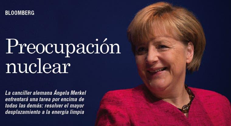 Dolor de cabeza de Merkel: era  atómica
