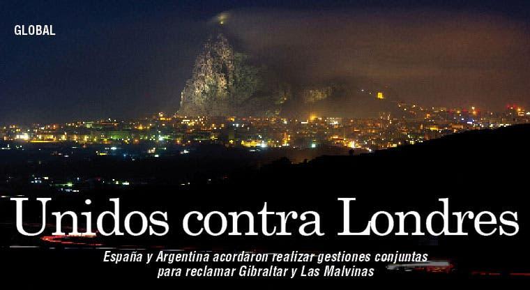 España y Argentina unidas contra Londres
