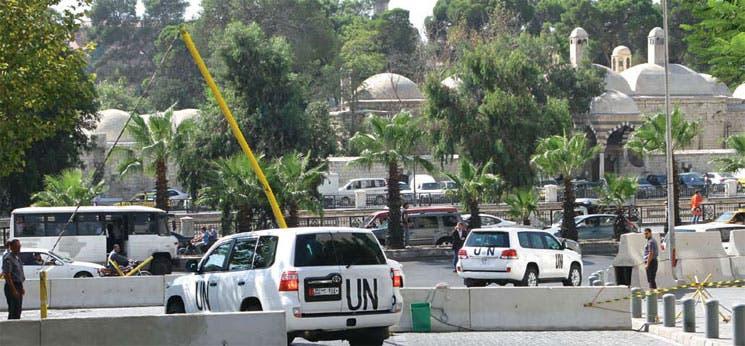Verificación del arsenal químico de Siria inicia mañana
