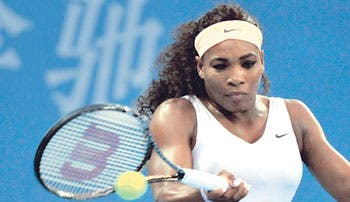 Serena golpea en Pekín