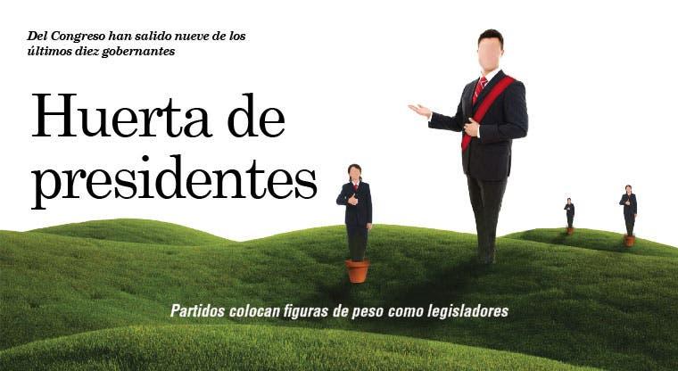 Huerta de presidentes