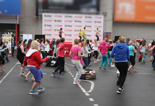 Baile contra el cáncer de mama