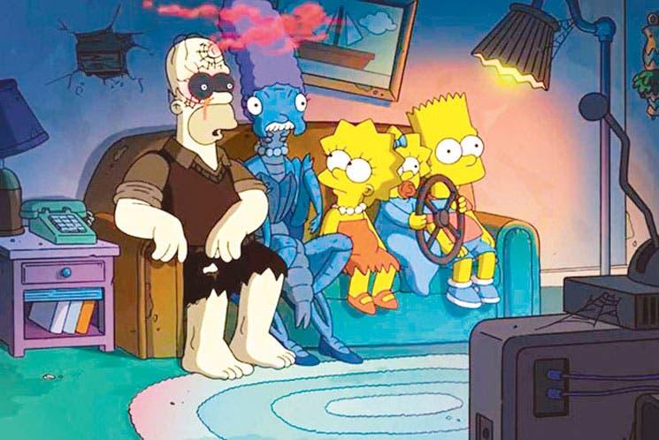 Simpsons monstruos de Halloween
