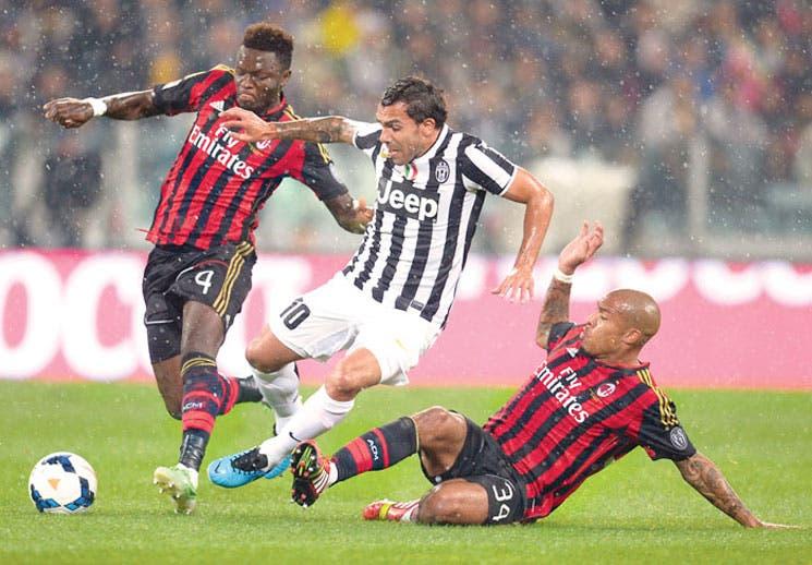 Juventus le dio a Milan