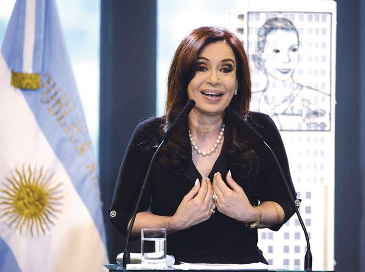 Presidenta argentina sufre lesión cerebrovascular