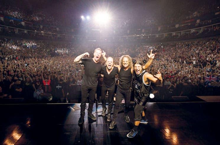 Metallica encenderá los cines