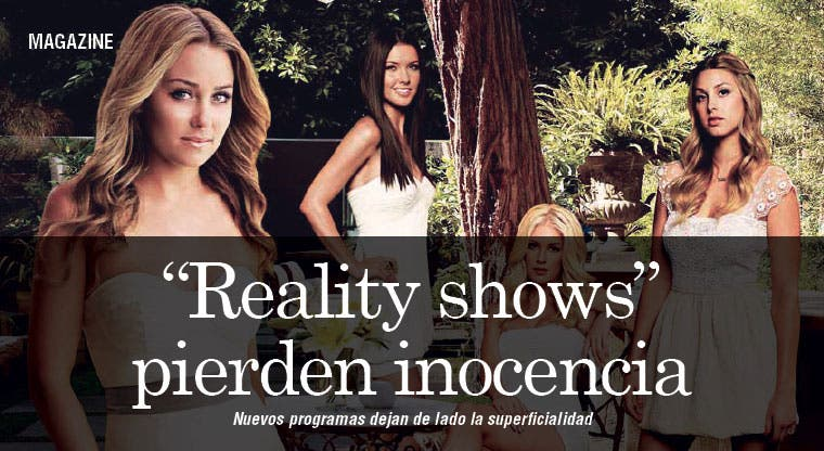 "Los ""reality shows"" pierden la inocencia"