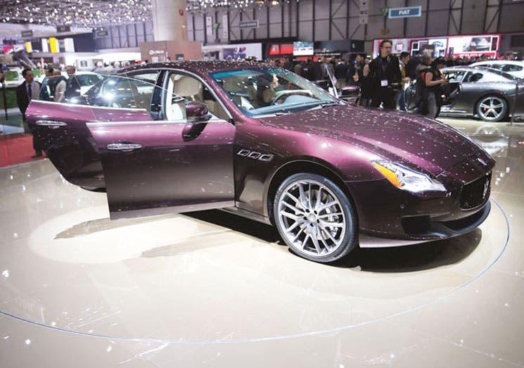 Maserati: costosa, y exótica