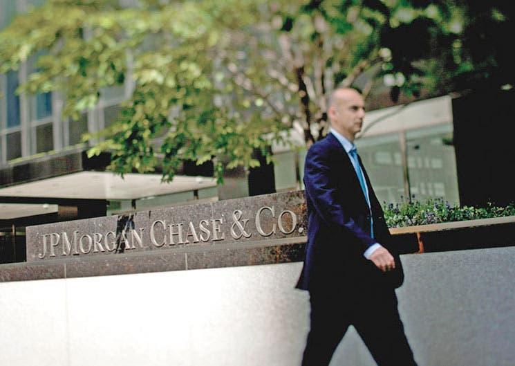 JPMorgan Chase perdió $380 millones