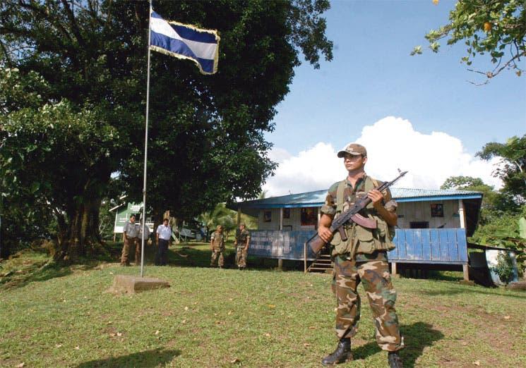 """""""No más abusos de Nicaragua"""""""