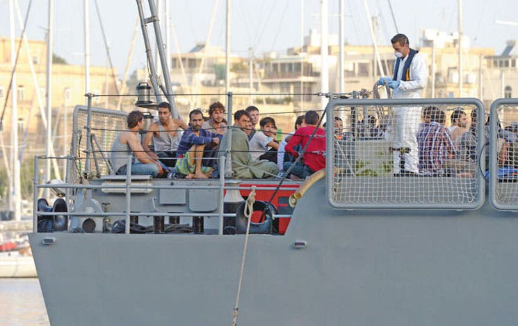"""""""Mare Nostrum"""" velará por inmigrantes"""