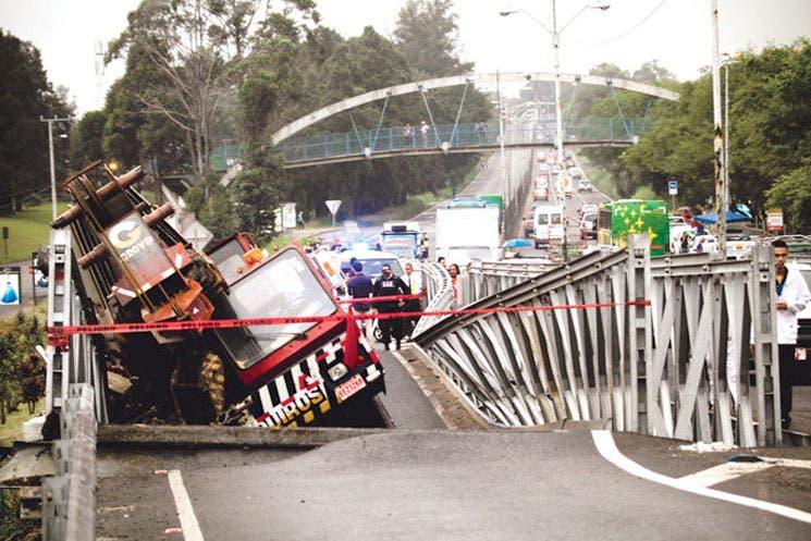 Puentes Bailey, de temporales a definitivos