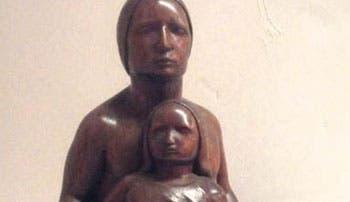 Homenaje lleno de esculturas