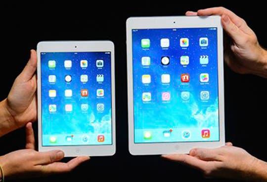 Nuevas iPad Air y iPad mini más livianas y con más capacidad