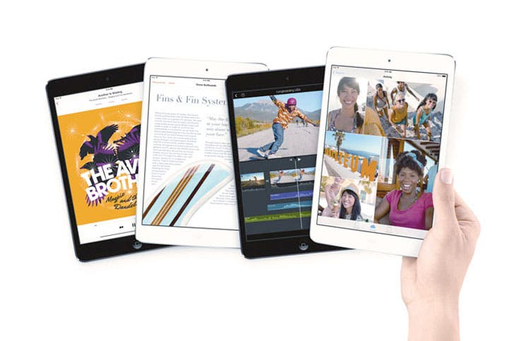 "Apple lanza iPads y ""software"" gratuito"
