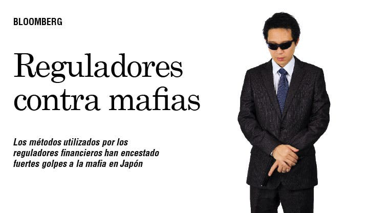 Tácticas de reguladores debilitan mafia japonesa