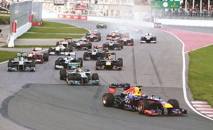 El reino de Vettel